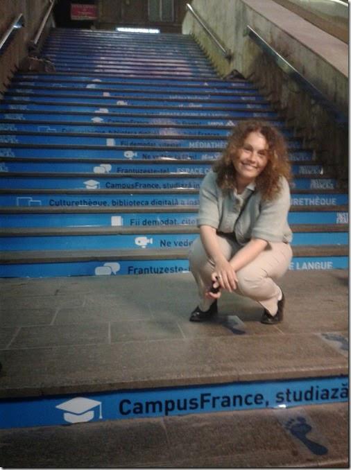 9 Mai - trepte Metrou Romana