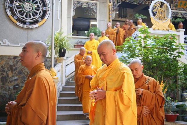 IMG 1687 Đại lễ Phật đản PL 2557 tại Tu viện Quảng Hương Già Lam