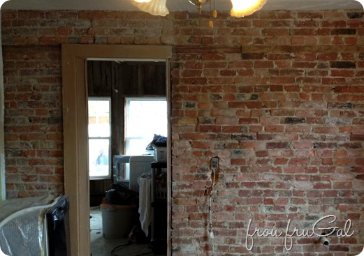 Sealed Brick Wall
