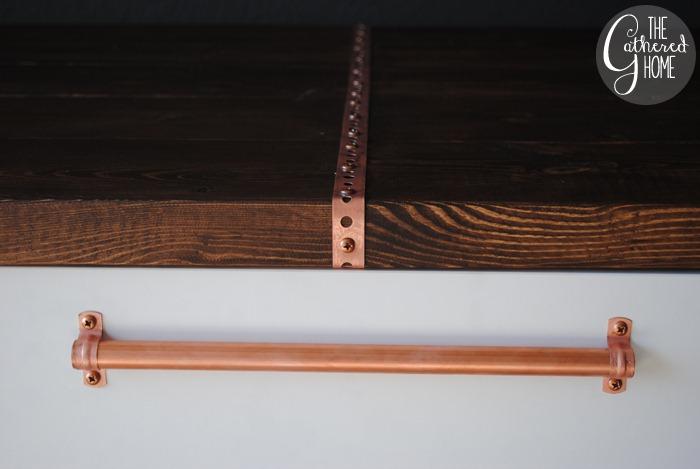 DIY Copper Desktop Accent