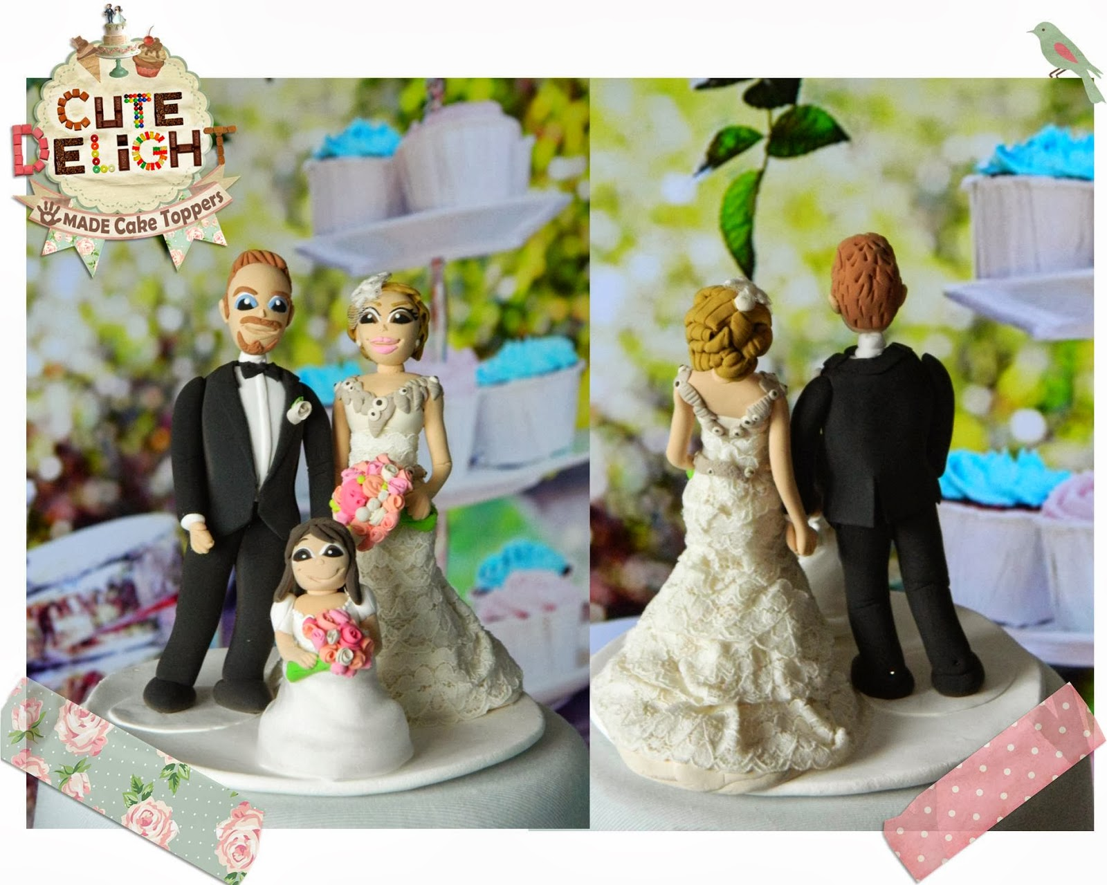 wedding cake toppers, custom cake topper, funny cake toppers, cake