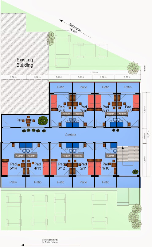 Floor Plan 2nd & 3rd Floor