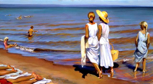 Jeffrey T. Larson 0 Un día en la playa.jpg