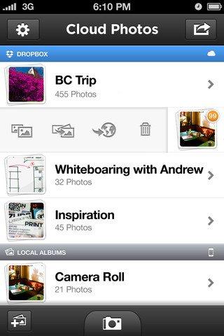 Tomar fotos en iPhone y subirlas automáticamente al Dropbox con CloudPhotos