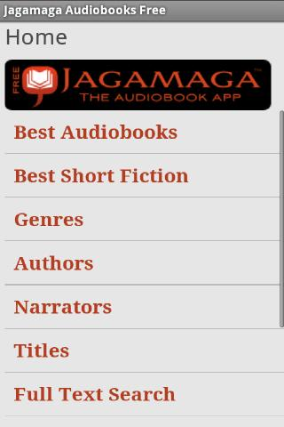 Jagamaga Audiobooks FREE - screenshot