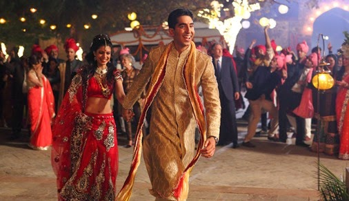 tina desai & dev patel _ THE SECOND BEST EXOTIC MARIGOLD HOTEL