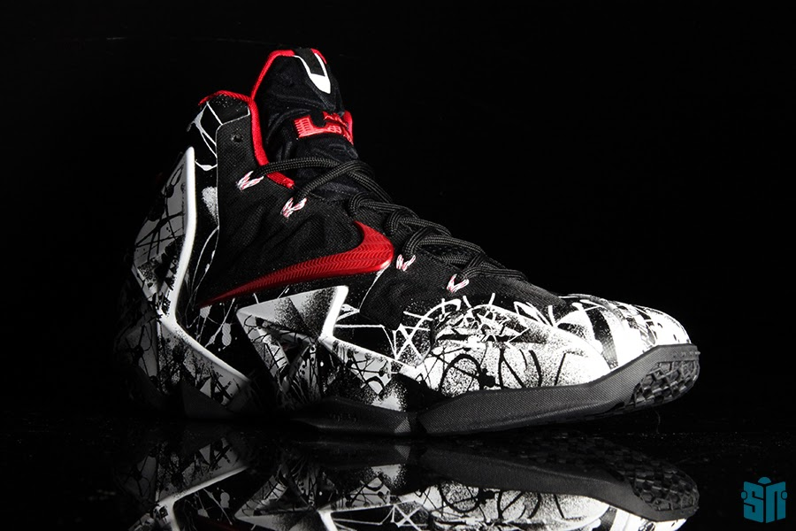 competitive price 2f93c a011e ... 8220Graffiti8221 A Truly Beauty Look at Nike LeBron XI 11  8220Graffiti8221 ...