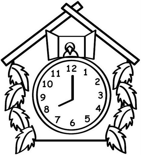 Relojes De Pared Para Colorear