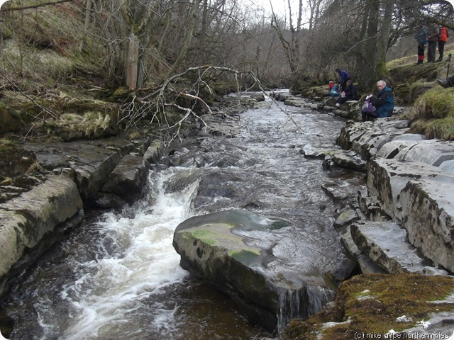 lunch by rookhope burn