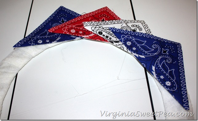 Bandana Wreath 9
