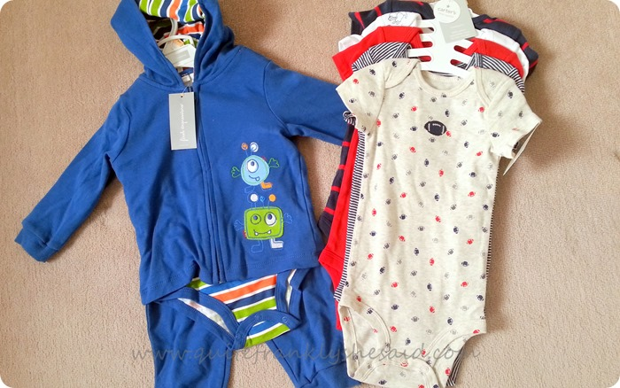 carter's us baby clothes haul