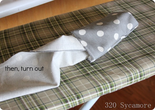make a fabric ribbon