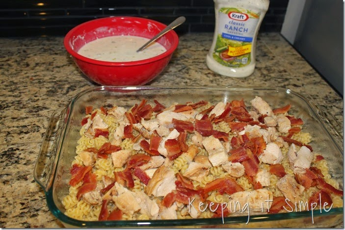 #shop Cheesy Bacon Ranch Chicken Casserole #FoodDeservesDelicious (5)