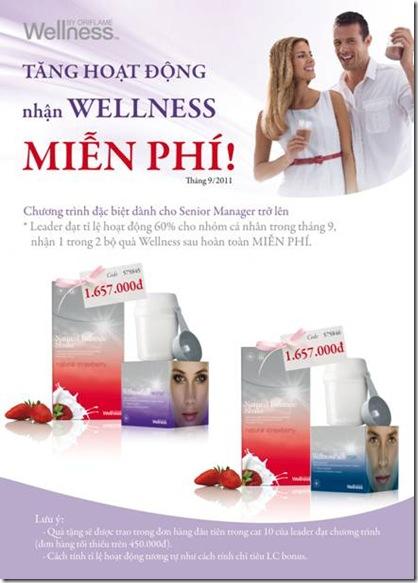Oriflame 9-2011 - Chuong Trinh Nhan Wellness Mien Phi