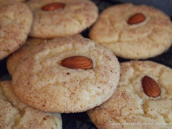 #recipes #almond #snickerdoodles