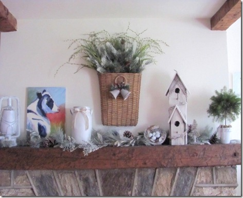 Christmas Mantel 2