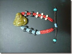 Buddha friendship bracelet 1