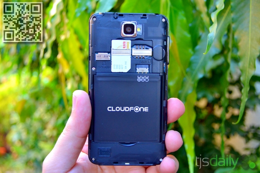 Cloudfone Excite 400d Review Battery