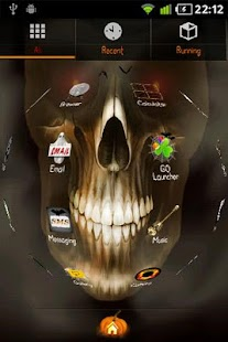 Halloween GO Launcher EX Theme - screenshot thumbnail