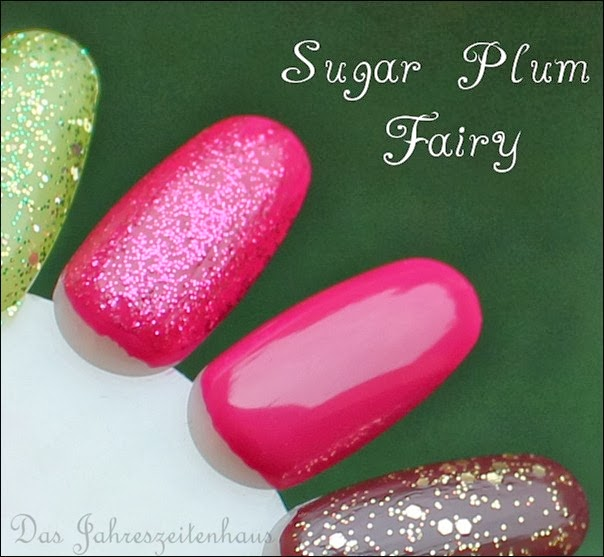 Essence Happy Holidays Nagellack Duo 04 Sugar Plum Fairy Swatches 2