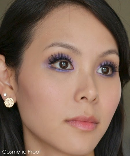 Mary Kay Sapphire Noir Eye Color Palette Makeup Look