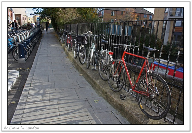 Cycles in Hackney