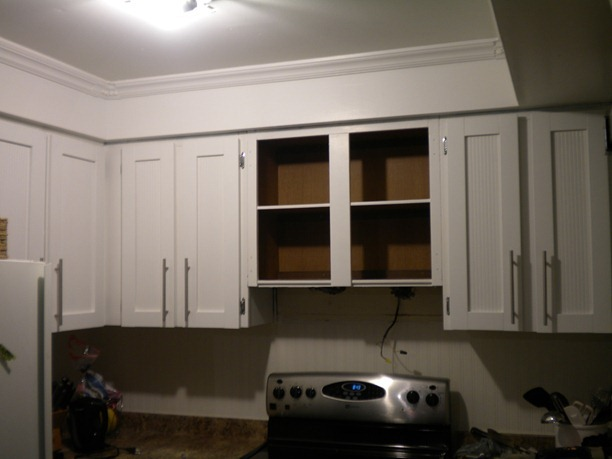 BROADVIEW HEIGHTS: Kitchen progress–retrofit a cabinet for a