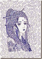 278 Zentangle Young Japanese