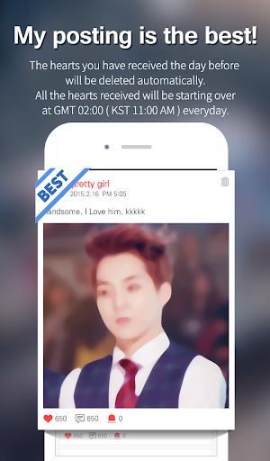 Kpop Star u2665 - Idol ranking  screenshots 3