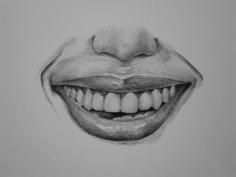This is a photo of Impertinent Drawing Of Teeth