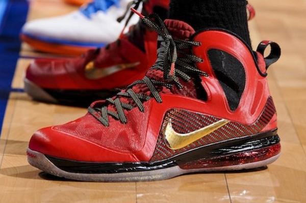 434e3533db9 Nike LeBron 9 PS Elite Finals MVP 8211 LBJ PE vs Retail Version ...