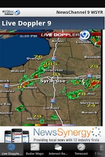 Storm Team 9 WSYR Syracuse - screenshot thumbnail