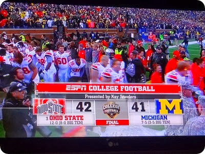 final score of OSU game