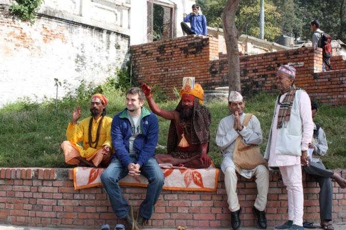 Imagini Nepal: Razvan Marc la Pashupatinath