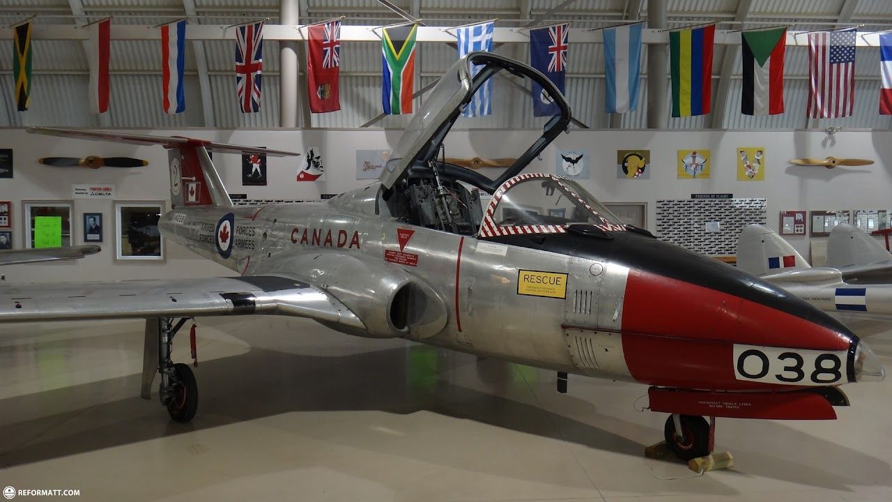 Want To Become A Pilot? Now You Can At Canadian Warplanes In