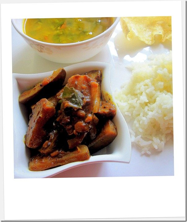 BRINJAL CURRY 1