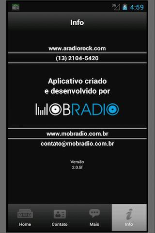 102 A Rádio Rock/Santos/Brasil - screenshot