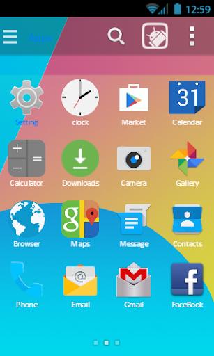 Go android kitkat 4.4 theme