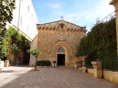 Obiective turistice Ierusalim: Prima oprire pe Via Dolorosa