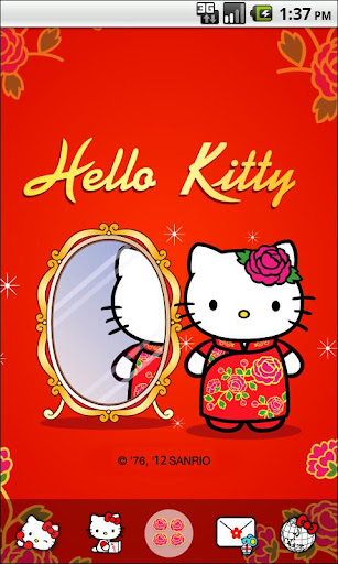 Hello Kitty QiPoa Theme
