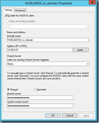 Terence Luk: Setting up HP Virtual Connect Manager 3 70 for