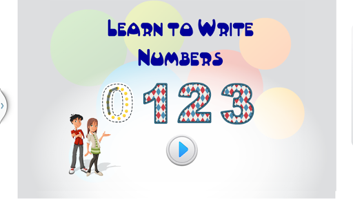 Learn To Trace Numbers - 123