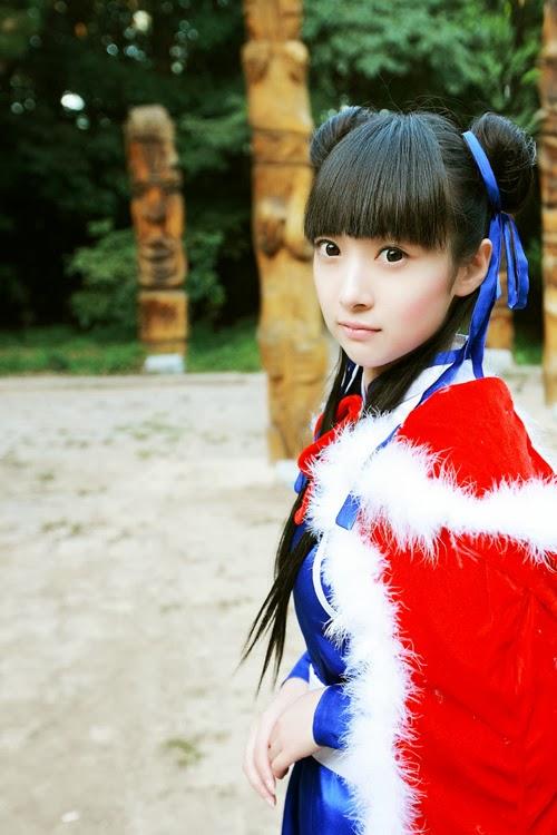 Triệu Linh Nhi trong ảnh cosplay