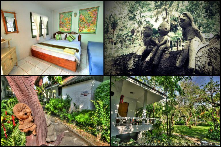 Laytrang resort Pak Meng beach collage