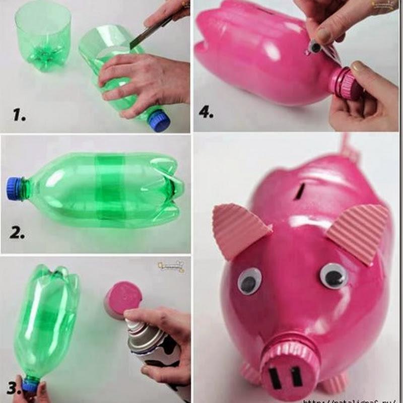 Ideas Reciclar botellas de refresco y agua