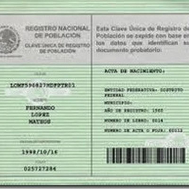 Consultas Curp Gob Mx Para Imprimir En Linea Tramitar Curp