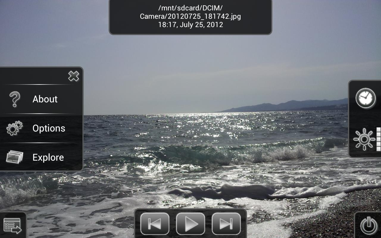 Photo Slides (Photo Frame) Pro - screenshot