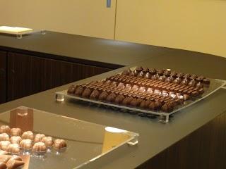 Dégustation de chocolat Cailler au Musée de la Maison Cailler à Broc