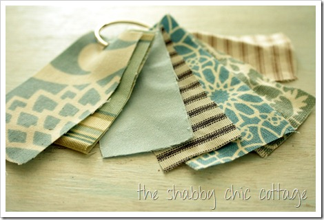 Fabric Sample Keeper