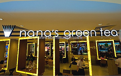 NANA'S GREEN TEA CAFE REVIEW MATCHA DESSERT LATTE JAPANESE CUISINE FOOD RESTAURANT Shiratama Parfait Anmitsu Latte crepes ice cream desserts cuisine Mushi - Dori Goma Dare Udon Mentaiko Cream Locomoko Don PLAZA SINGAPURA DHOBY GAUT